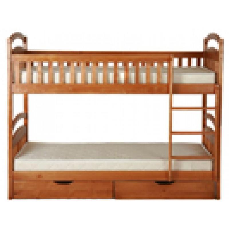 Двухъярусная кровать – классическое решение для обустройства детских комнат